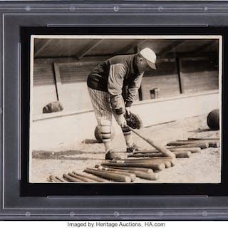 1927 Rogers Hornsby Original News Photograph, PSA/DNA Type 1.