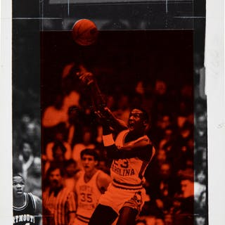 1983 Michael Jordan Original Photograph, PSA/DNA Type 1.