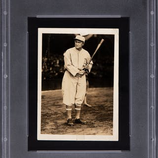 1928 Ty Cobb Original Photograph Used for His 1928 Star Player Candy