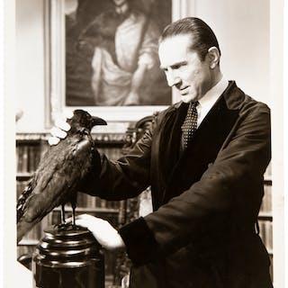 "1935 Bela Lugosi ""The Raven"" Original Photograph, PSA/DNA Type 1."
