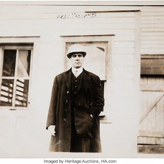 Circa 1910's Jess Willard Original Photograph by George Grantham Bain