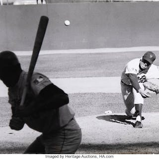 1960's Tom Seaver Original Oversized Photograph by Ken Regan, PSA/DNA Type 1.