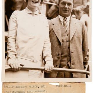 1920's Bobby Jones Original Photograph by Kadel & Hebert, PSA/DNA Type 1.