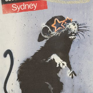 Banksy (British, b. 1974) Time Out Sydney, 2010 Offset lithograph