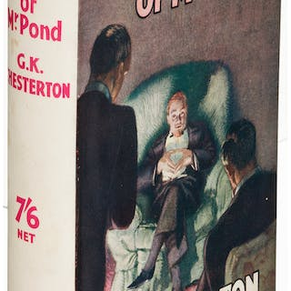 G. K. Chesterton. The Paradoxes of Mr. Pond. London: [1936]. First edition....