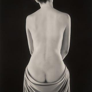 Ruth Bernhard (American, 1905-2006) Draped Torso, 1962 Gelatin silver