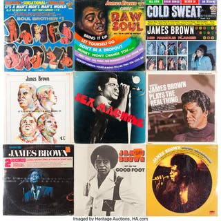 James Brown Sealed LP Group of 9 (Various labels, 1966-72).... (Total: 9 Items)