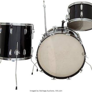 Mitch Mitchell Partial Drum Set (circa 1960s).  ... (Total: 4 Items)