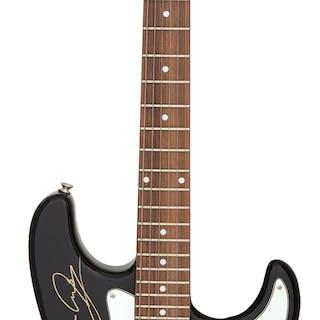 Scorpions Signed S101 Standard Guitar Serial #SNEFS24/BK (circa late