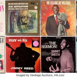 Group of 8 Jazz/Blues Vinyl LPs.  ... (Total: 8 Items)