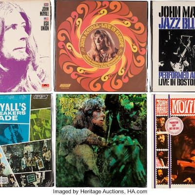 John Mayall Group of 6 Vinyl LPs.  ... (Total: 6 Items)
