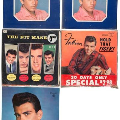 Fabian Group of 5 Vinyl LPs.  ... (Total: 5 Items)