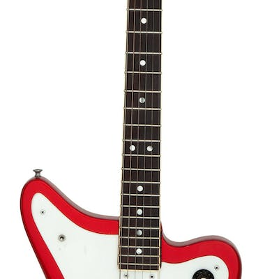 Circa 1966 Wurlitzer Wildcat Lollipop Red Solid Body Electric Guitar