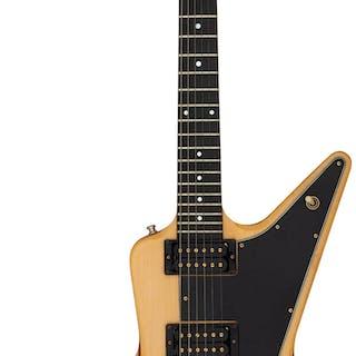 1980 Gibson Explorer II (E2) Natural Solid Body Electric Guitar, Serial