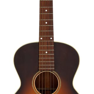 Circa 1920's Gibson L-1 Sunburst Acoustic Guitar, Serial # 9415....