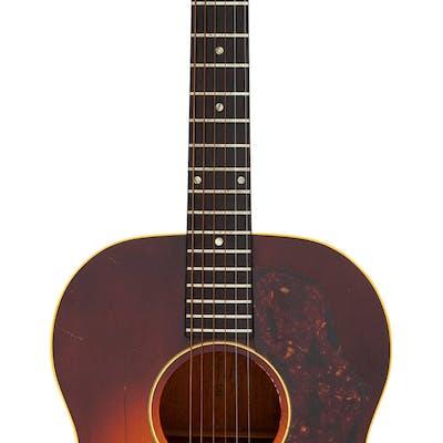 1965 Gibson LG-1 Sunburst Acoustic Guitar, Serial # 226886....
