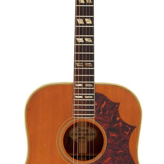1964 Gibson Country Western Natural Acoustic Guitar, Serial # 182921....