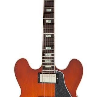 2016 Gibson ES-335 Lightburst Semi-Hollow Body Electric Guitar, Serial