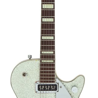 1956 Gretsch 6129 Silver Sparkle Solid Body Electric Guitar, Serial # 17246....