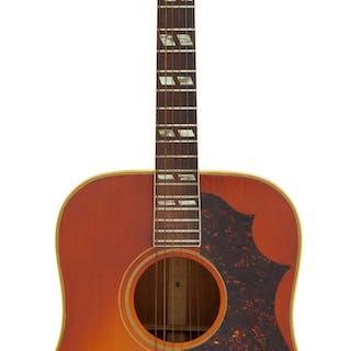 1966 Gibson SJ Cherry Sunburst Acoustic Guitar, Serial # 404885....