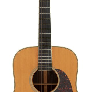 2002 Martin HD-28LSV Natural Acoustic Guitar, Serial # 860395....