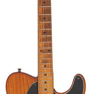 1957 Fender Telecaster Natural Solid Body Electric Guitar, Serial # -22548....