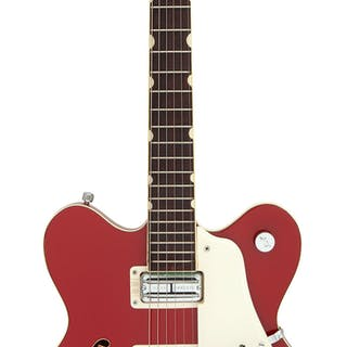 1967 Gretsch Monkees Rock N' Roll Model Red Semi-Hollow Body Electric