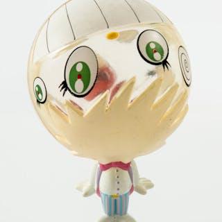 Takashi Murakami (Japanese, b. 1962) Oval-kun #3, 1999 Painted cast