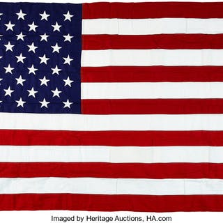 Janet Armstrong's Personal U.S. Flag Flown over the U.S. Capitol on