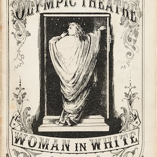 [Wilkie Collins]. Woman in White, Olympic Theatre. (Altered from the
