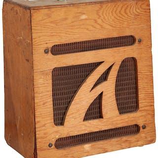 1964 Alamo Model 3 Natural Guitar Amplifier, Serial # 604405....
