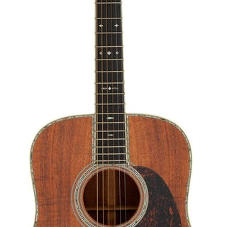 2002 Martin D-42 K2 Natural Acoustic Guitar, Serial # 860857....