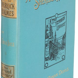 A[rthur] Conan Doyle. The Adventures of Sherlock Holmes. London: George
