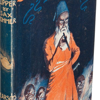 Sax Rohmer. The Quest of the Sacred Slipper. London: [1919]. First edition. ...