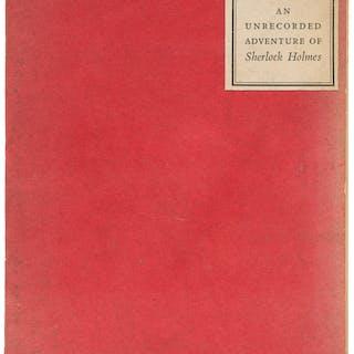A. Conan Doyle. Christmas Eve. Cambridge: 1936. First edition, limited