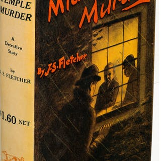 J. S. Fletcher. The Middle Temple Murder. New York: 1919. First U.