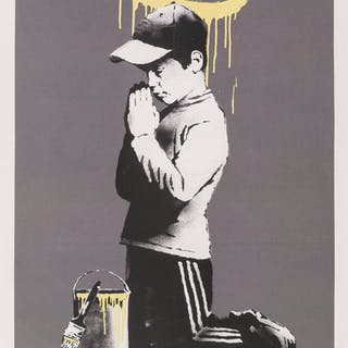 After Banksy  Exit Through the Gift Shop, poster, n.d. Offset lithograph