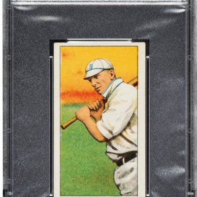 1909-11 T206 Old Mill Whitey Alperman PSA EX-MT 6 - The Only Confirmed Example!