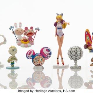 Takashi Murakami X Kaikai Kiki Superflat Museum, set of ten, 2005