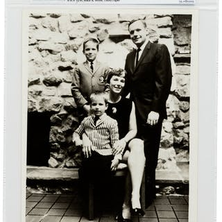 NASA Photograph of Armstrong Family Directly From The Armstrong Family