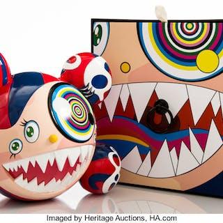 Takashi Murakami (Japanese, b. 1962) Mr. Dob (Red), 2016 Painted cast