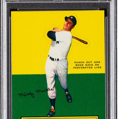 1964 Topps Stand Up Mickey Mantle PSA NM-MT 8.