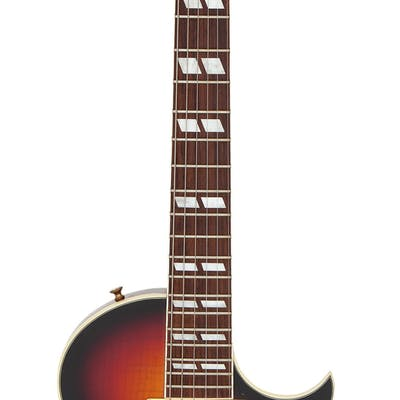 1997 Gibson Nighthawk Sunburst Solid Body Electric Guitar, Serial