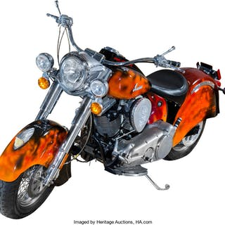 Terminator 3: Rise of the Machines Indian Motorcycle Deluxe Model (2003). ...