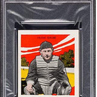 1933 R305 Tattoo Orbit Frank Grube PSA NM 7 - Pop Three, Three Higher.
