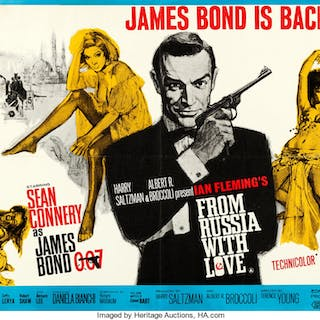 From Russia with Love (United Artists, 1964)