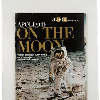 "Special Edition LOOK Magazine ""Apollo 11: On The Moon"", Dated 1969"