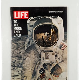 "Special Edition LIFE Magazine ""To the Moon and Back"", Dated August"