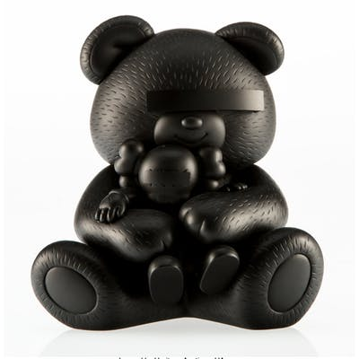 KAWS X Jun Takahashi Undercover Bear Companion (Black), 2009 Cast