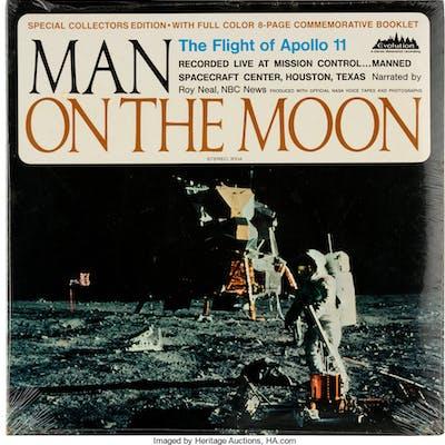 Vinyl: Roy Neal Man On The Moon - The Flight Of Apollo 11 (Evolution)
